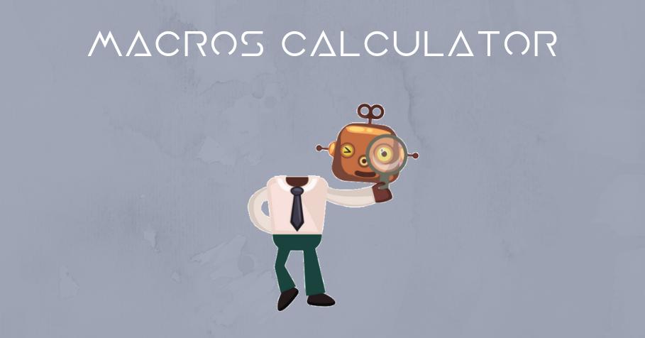 Macros calculator