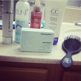 Must have hair products and tools when traveling