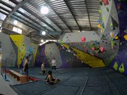 Second Floor Bouldering Wall 2