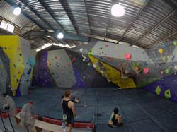 Second Floor Bouldering Wall