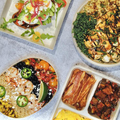 Assorted Individual Meals