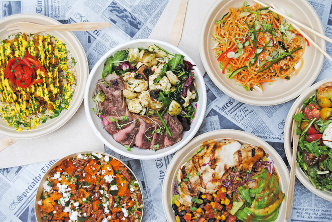 Warm Bowls and Salads