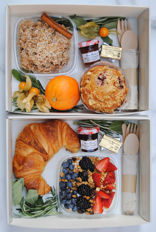 Boxed Breakfasts