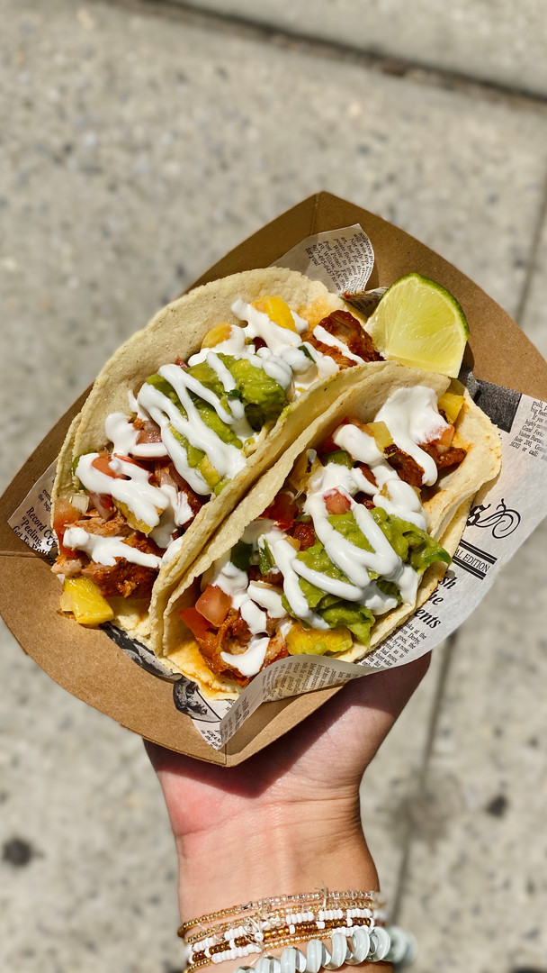 Pork Cochinita Pibil Tacos