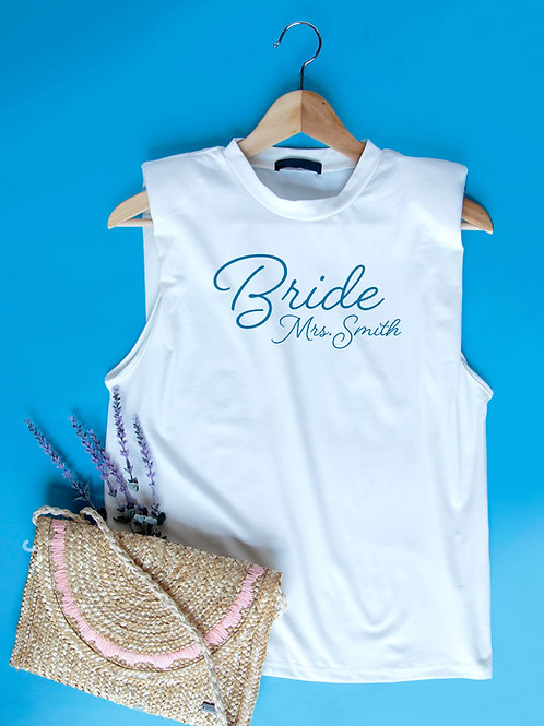 Personalized Bride Shirt