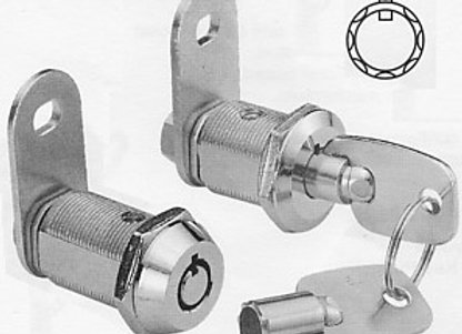 Camlock with 50 Series Key