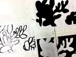 דפוס רשת, דפוס משי, הדפסות נייר