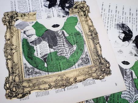 הדפסת ציורים בדפוס רשת לאורך ההיסטוריה