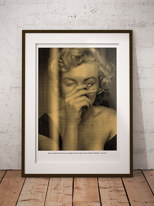 Jacob Ben Cohen | GOLD Marilyn Monroe