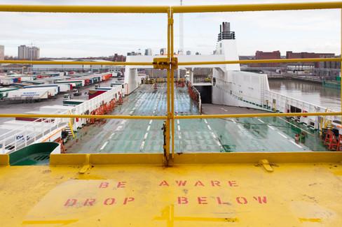 View from bridge deck