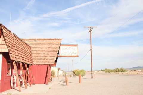 Baghdad cafe Newberry Springs, Calif
