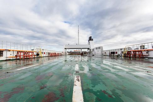 empty top deck