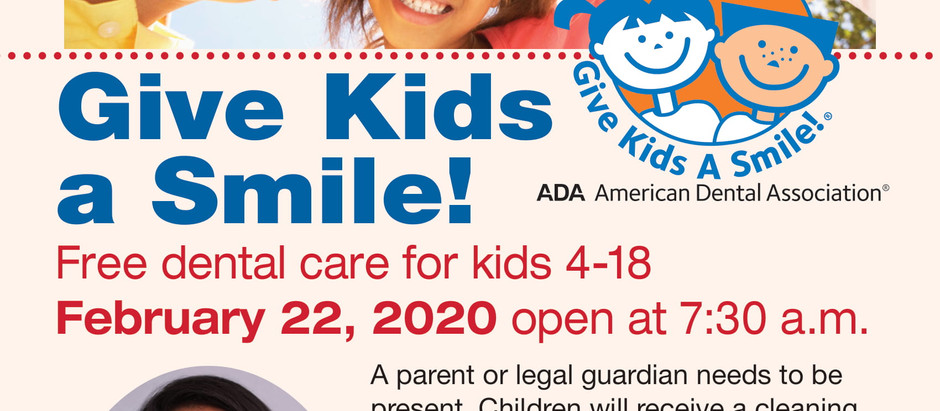 Give Me A Smile Free Dental Care, February 22, 2020