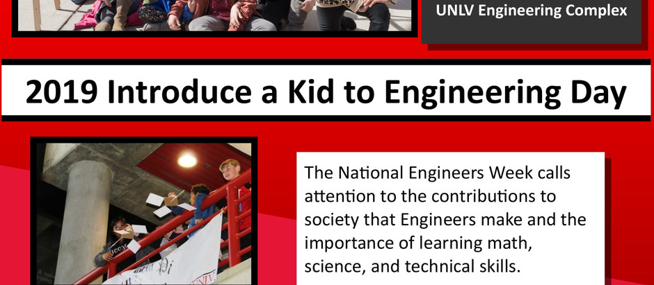 Introduce a Kid to Engineering Day 2019 @ UNLV