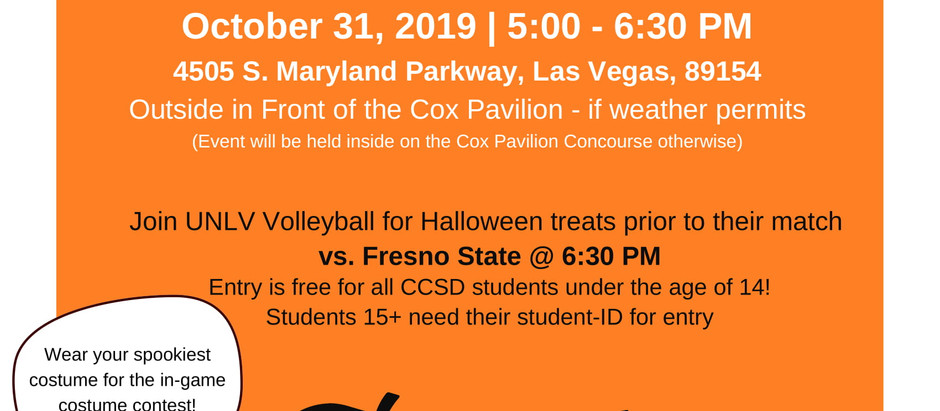 UNLV's Volleyball Trunk or Treat