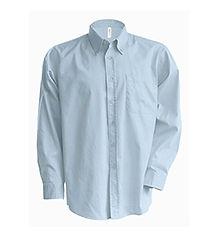 Reklamní pánská košile světle modrá