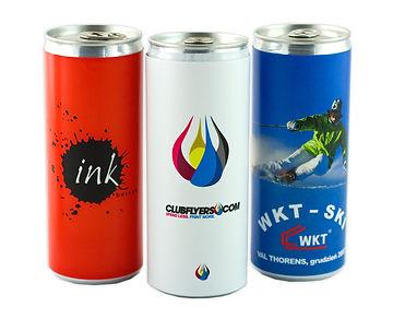 Reklamní energetický nápoj