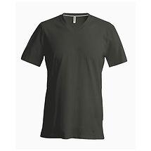 Pánské reklamní triko dark khaki