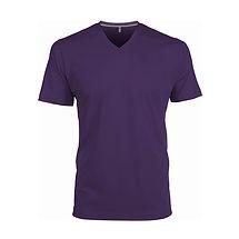 Pánské reklamní triko fialové