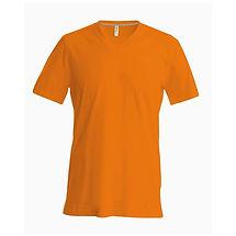 Pánské reklamní triko oranžové