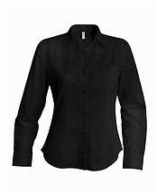 Dámská reklamní košile černá