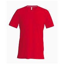 Pánské reklamní triko červené