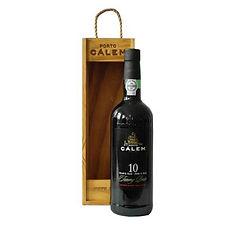 Portské víno CÁLEM 10 YEARS OLD reklamní alkohol