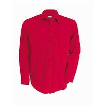 Reklamní pánská košile červená