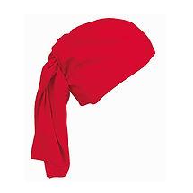 Reklamní víceúčelový šátek červený