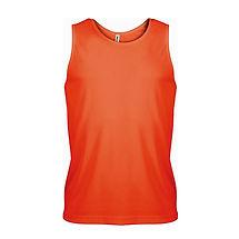 Reklamní pánské tílko Fluorescent Orange