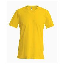 Pánské reklamní triko žluté