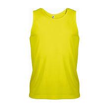 Reklamní pánské tílko Fluorescent Yellow