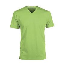 Pánské reklamní triko světle zelené