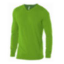 Reklamní svetr s výstřihem do V