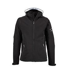 Reklamní pánská softshellová bunda black