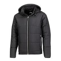 Reklamní pánská zimní bunda černá
