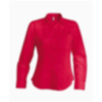 Dámská reklamní košile červená