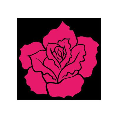 Roze nam Grafisch