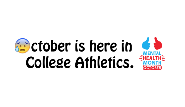 OCTOBER: 5 Solutions to get your Athletes Through This Month