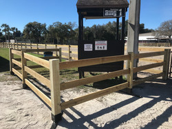 3-board horse show social distancing compliant