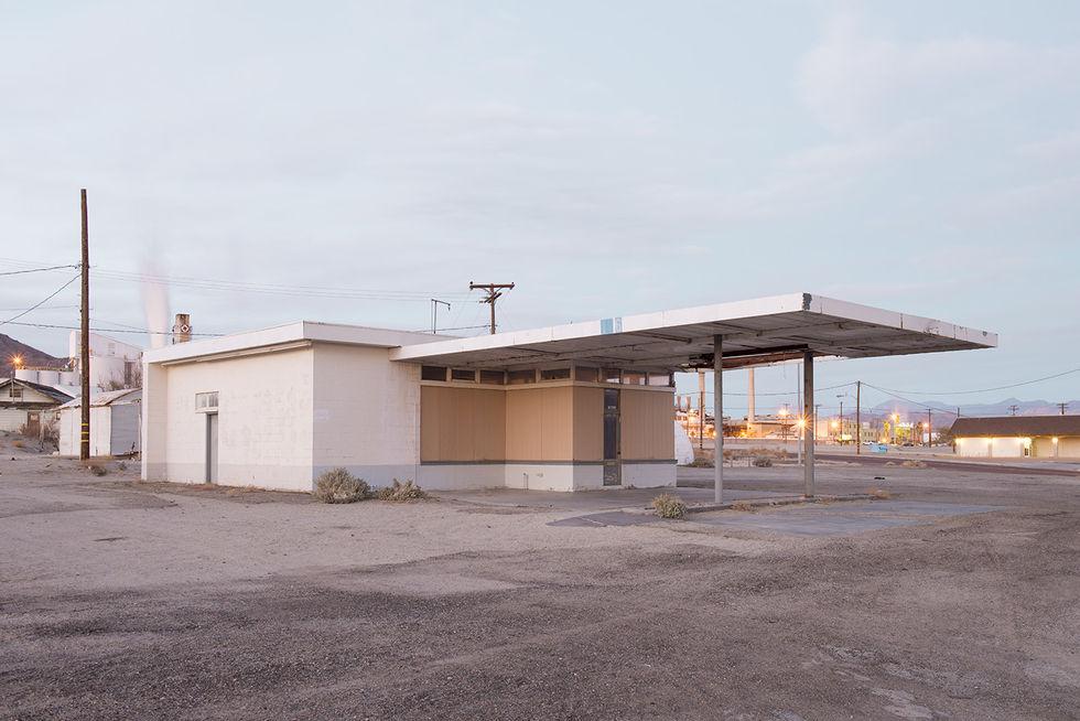 desierto gasolinera Mojave eeuu