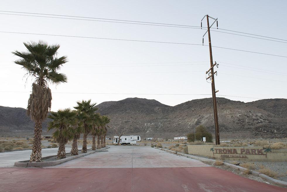 desierto pueblo Mojave eeuu