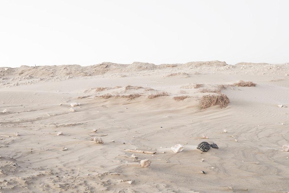 dunas  arena desembocadura Ebro
