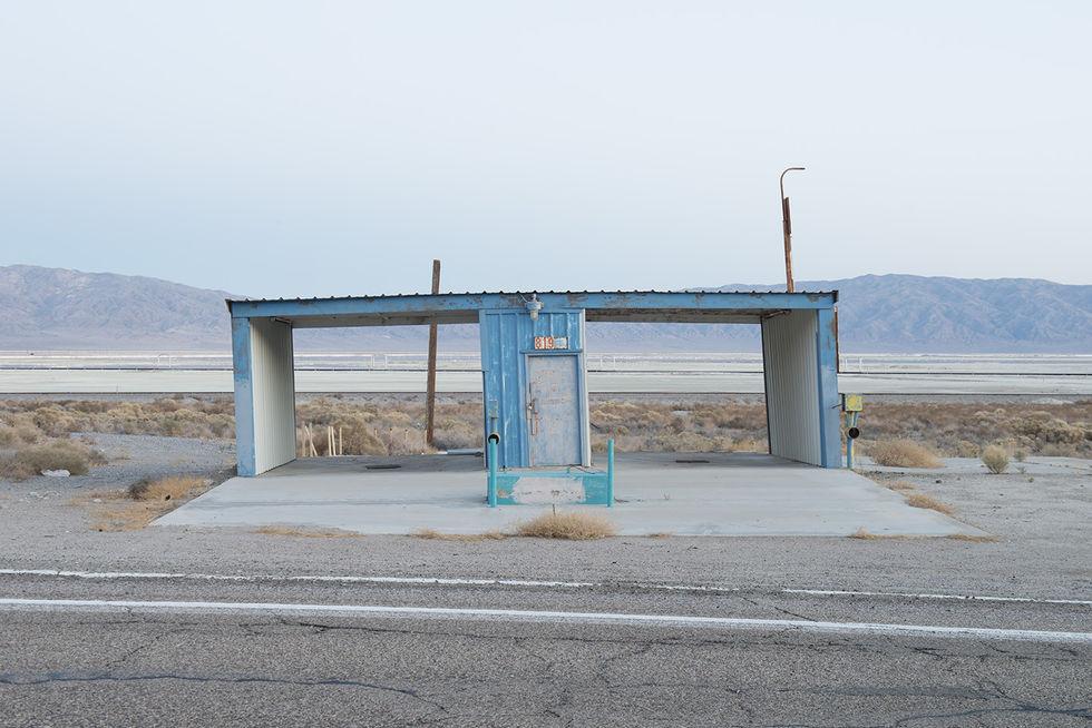 desierto carretera eeuu