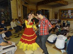 Bailarines paraguayos