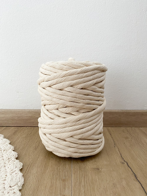 12mm (Natural Cotton) 1PLY