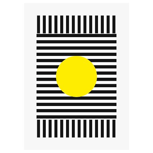 Yellow Dot - Digital Print