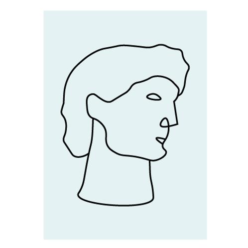 The David - Digital Print