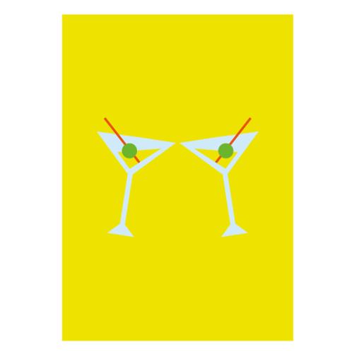 Drink Yellow - Digital Print