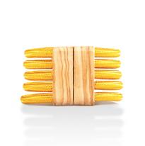 bracciale cavi e legno